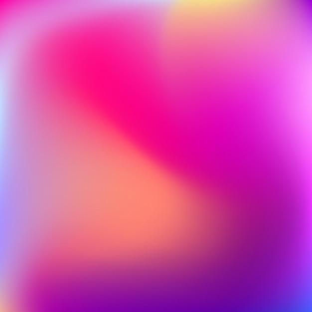 Abstract vervagen achtergrond met kleurovergang met trend pastel roze, paars Premium Vector