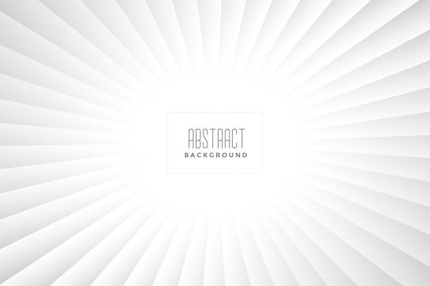 Abstract wit stralenontwerp als achtergrond Gratis Vector
