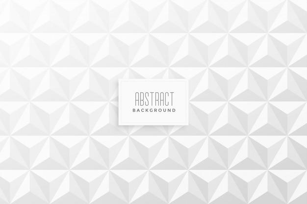 Abstracte 3d het patroonachtergrond van de driehoeksvorm Gratis Vector