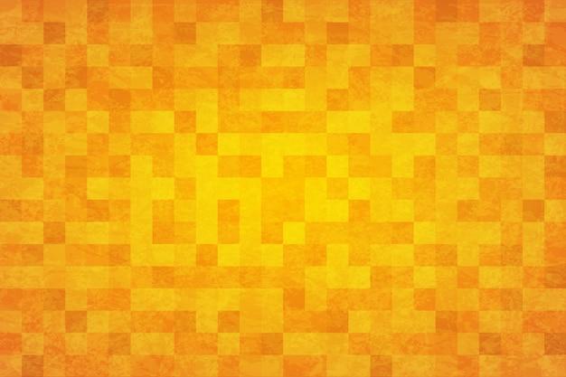 Abstracte achtergrond geel oranje Premium Vector