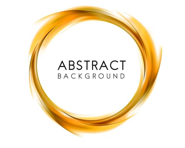 Abstracte achtergrond in geel Gratis Vector