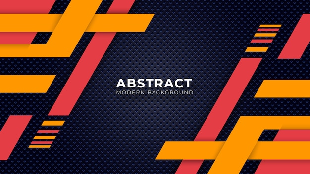 Abstracte achtergrond kleur ontwerpsjabloon Premium Vector