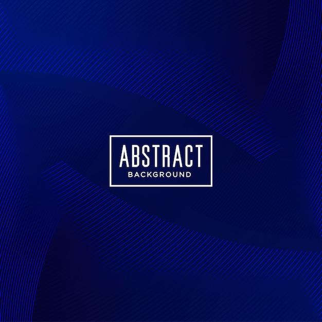 Abstracte achtergrond met blauwe lijn Premium Vector