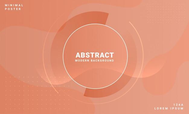 Abstracte achtergrond met bruin concept Premium Vector
