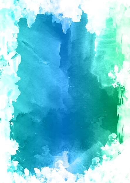 Abstracte achtergrond met een gedetailleerde aquarel textuur Gratis Vector