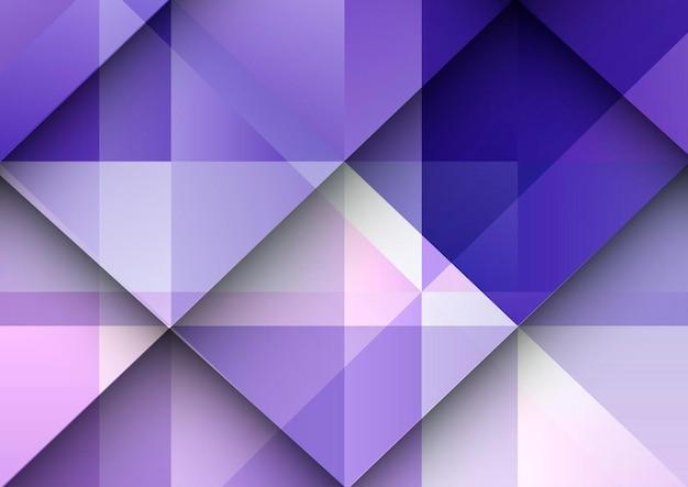 Abstracte achtergrond met een geometrisch verloopontwerp Gratis Vector