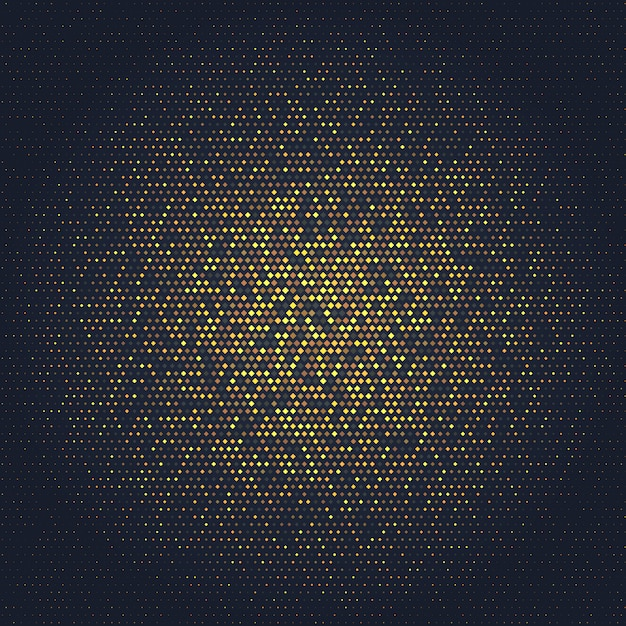 Abstracte achtergrond met gouden ontwerp Gratis Vector