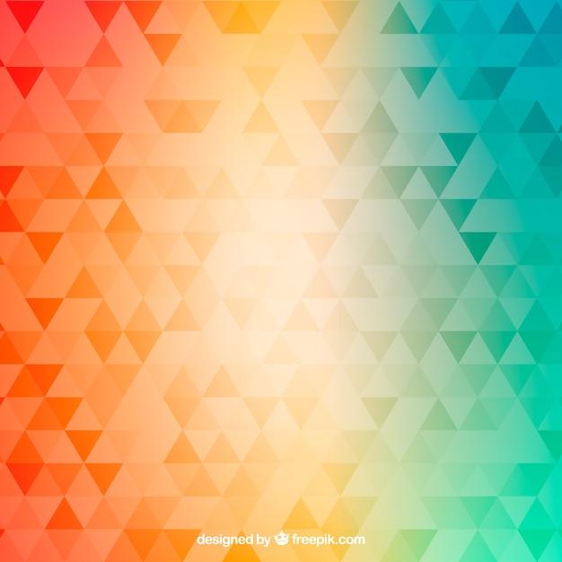 Abstracte achtergrond met gradiëntontwerp Gratis Vector
