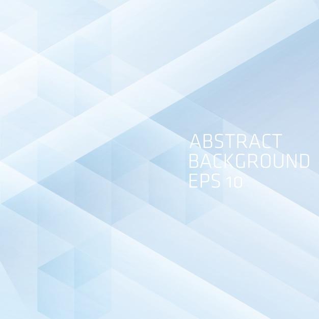 Abstracte achtergrond met kubus Premium Vector