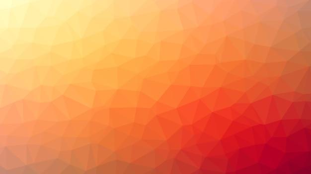 Abstracte achtergrond oranje driehoeksdiamanten Premium Vector