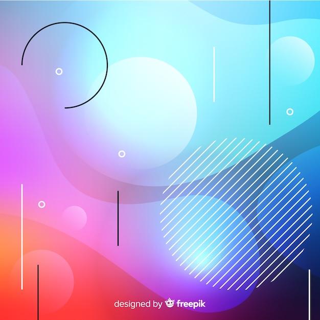 Abstracte achtergrond Gratis Vector