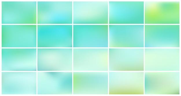 Abstracte azuurblauwe wazig verloop. Gratis Vector
