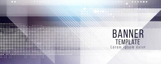 Abstracte banner ontwerp moderne sjabloon Gratis Vector