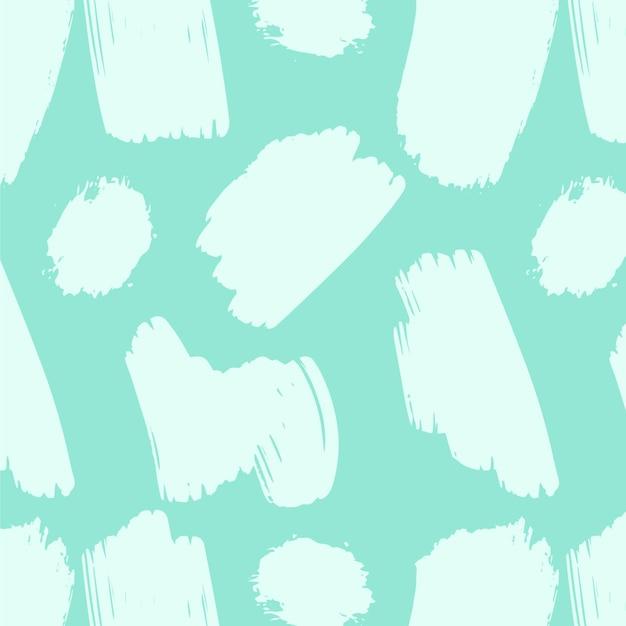 Abstracte beroerte penseelpatroon Gratis Vector