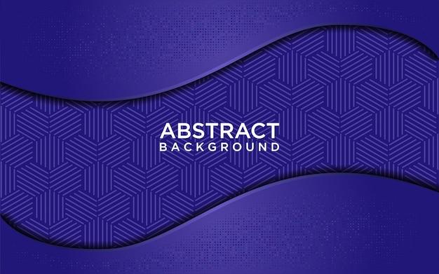 Abstracte blauwe achtergrond met lichte glitters Premium Vector