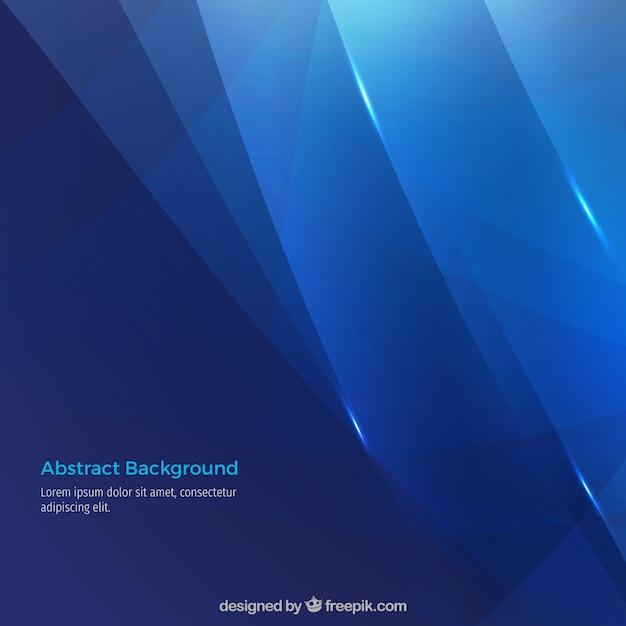 Abstracte blauwe achtergrond Gratis Vector