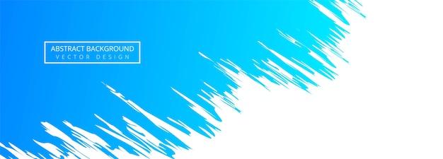 Abstracte blauwe aquarel Gratis Vector