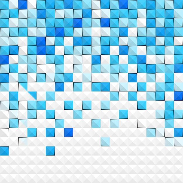 Abstracte blauwe papier achtergrond Gratis Vector