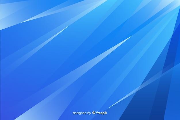 Abstracte blauwe vormenachtergrond Gratis Vector
