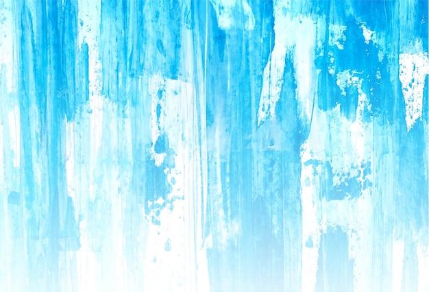 Abstracte blauwe zachte aquarel textuur achtergrond Gratis Vector