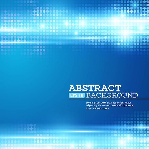 Abstracte bokeh steekt achtergrond aan. disco muziek. vector illustratie Premium Vector