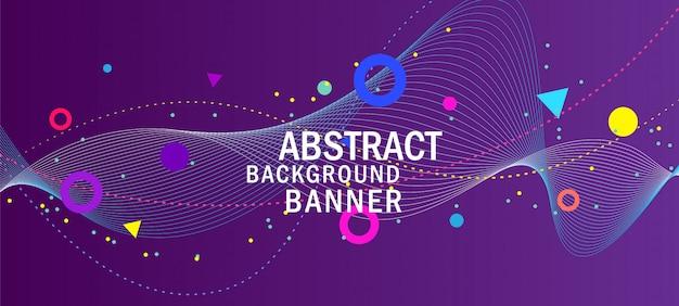 Abstracte creatieve paarse achtergrond Premium Vector