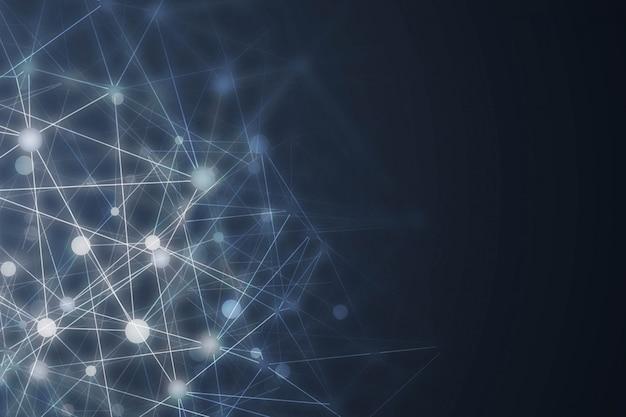 Abstracte digitale technische achtergrond Gratis Vector