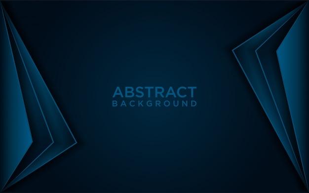 Abstracte donkerblauwe achtergrond Premium Vector