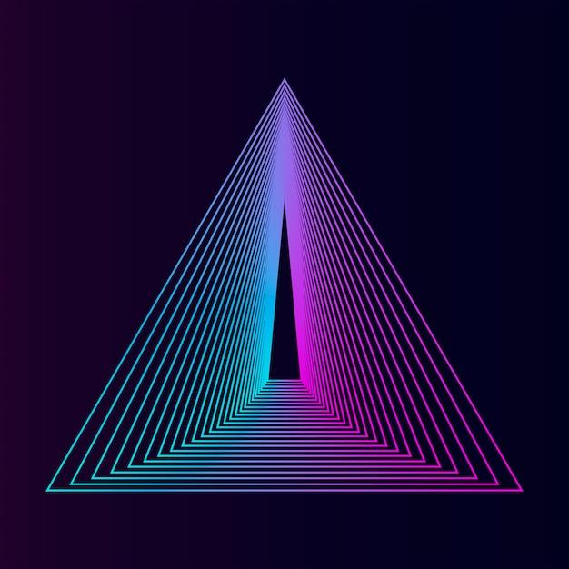 Abstracte dynamische patroon behang vector Gratis Vector