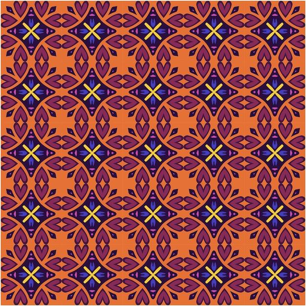 Abstracte etnische naadloze patroonachtergrond Premium Vector