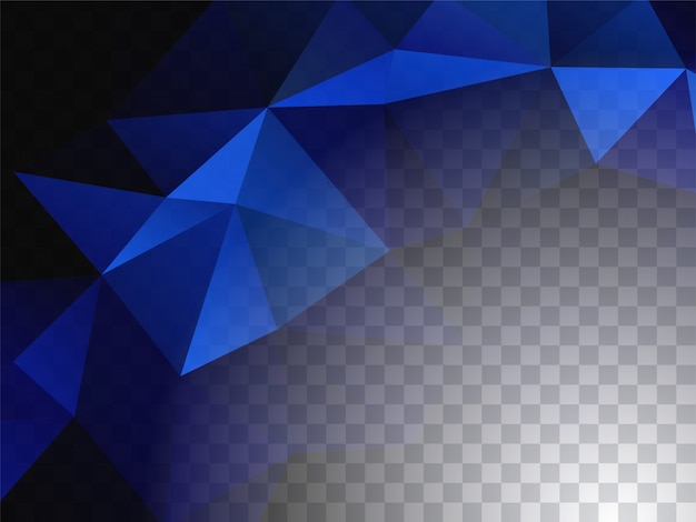 Abstracte geometrisch ontwerp transparante achtergrond Gratis Vector