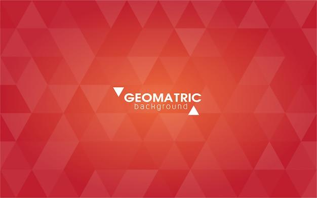 Abstracte geometrische achtergrond, vector van veelhoeken, driehoeken Premium Vector
