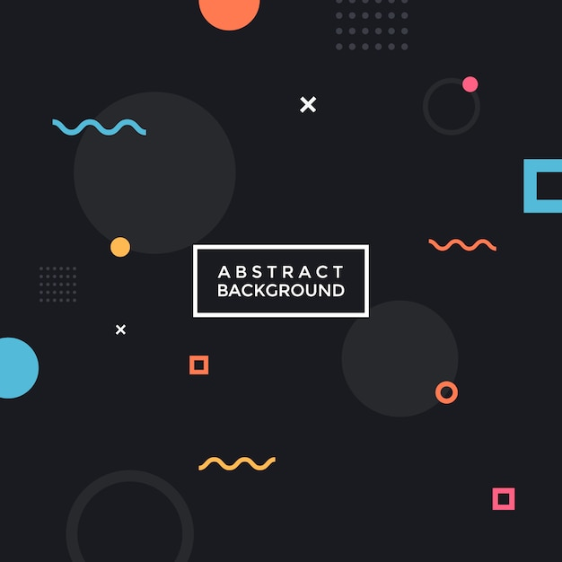 Abstracte geometrische achtergrond. Premium Vector