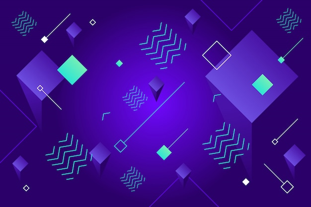 Abstracte geometrische achtergrond Premium Vector