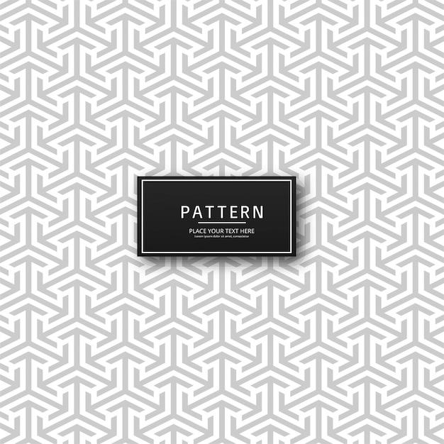Abstracte geometrische pijl patroon achtergrond Gratis Vector