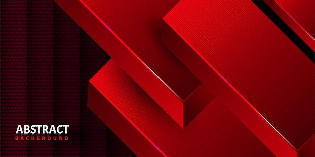 Abstracte geometrische vormachtergrond Premium Vector