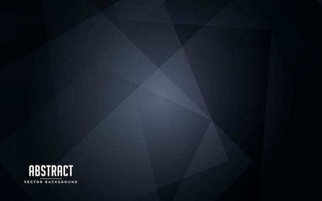 Abstracte geometrische zwarte en grijze kleur als achtergrond Premium Vector