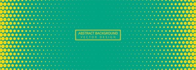 Abstracte gestippelde bannerachtergrond Gratis Vector