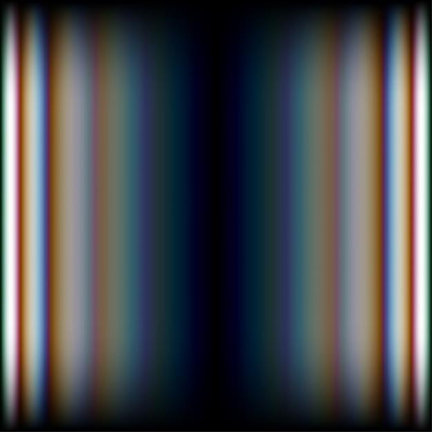 Abstracte glanzende lijnen met aberratiesachtergrond Premium Vector