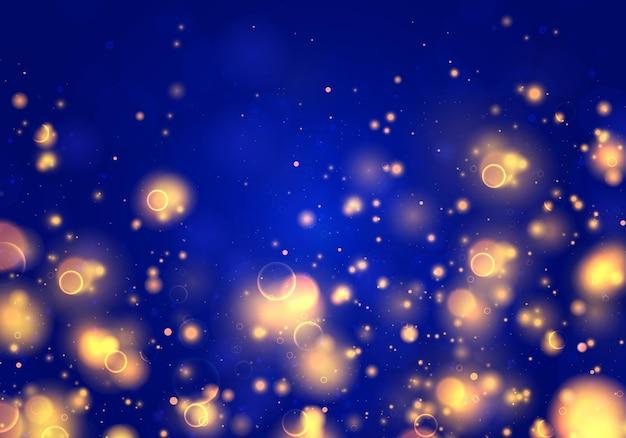Abstracte glitter intreepupil knipperende sterren en vonken Premium Vector