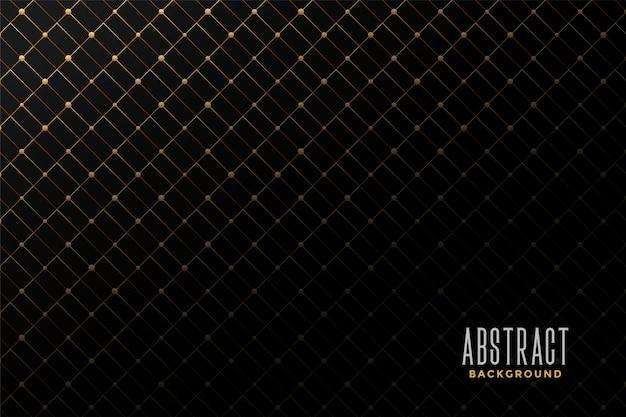 Abstracte gouden patroonachtergrond Gratis Vector