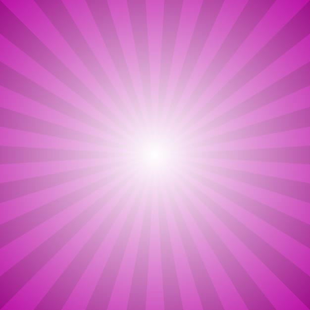 Abstracte gradient ray burst achtergrond - hypnotic vector grafisch van radiale stralen Gratis Vector