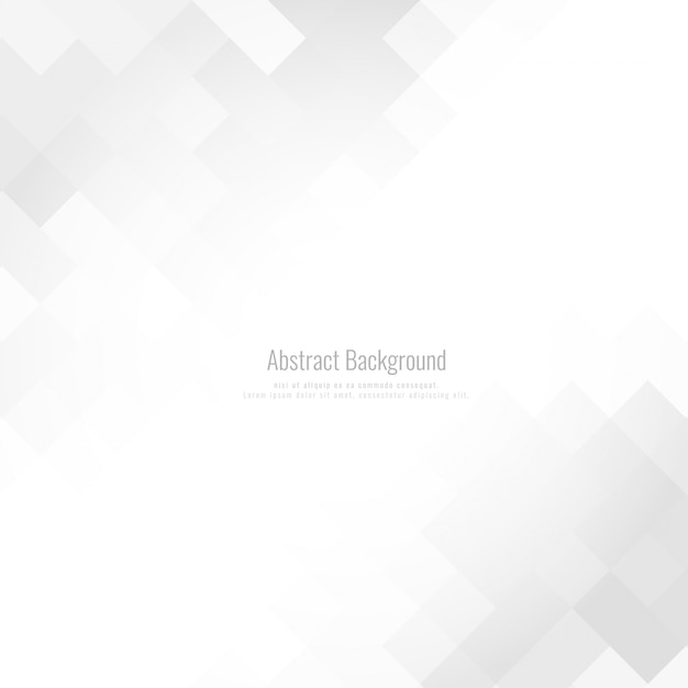 Abstracte grijze kleur mozaïekachtergrond Gratis Vector