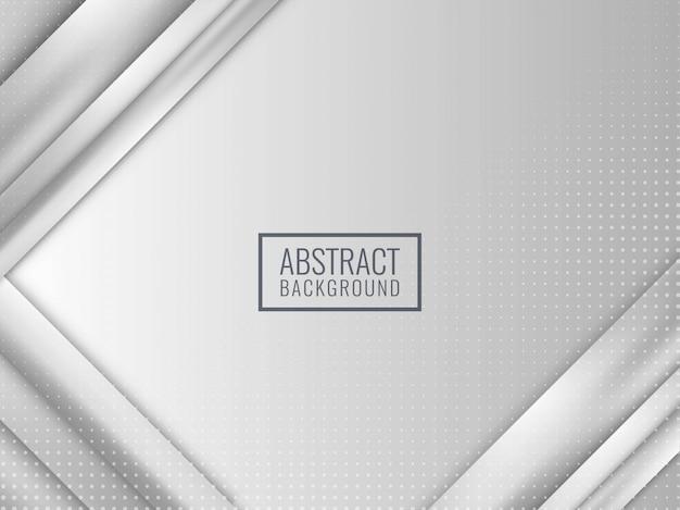 Abstracte grijze strepen bedrijfsachtergrond Premium Vector