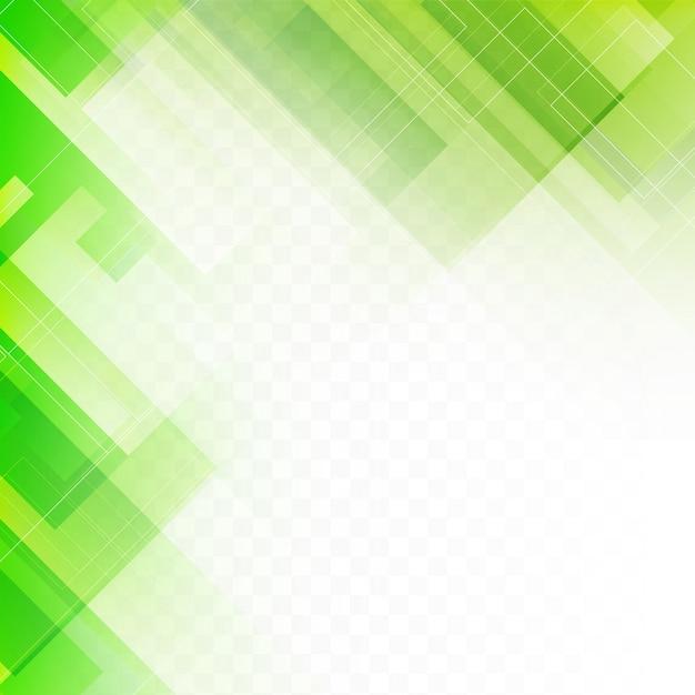 Abstracte groene geometrische achtergrond Gratis Vector