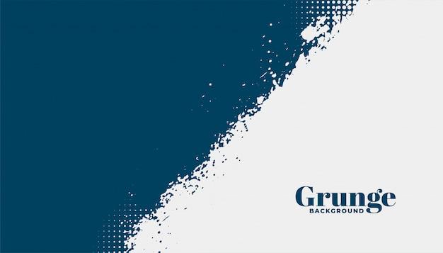 Abstracte grunge gestructureerde achtergrond in twee kleuren Gratis Vector