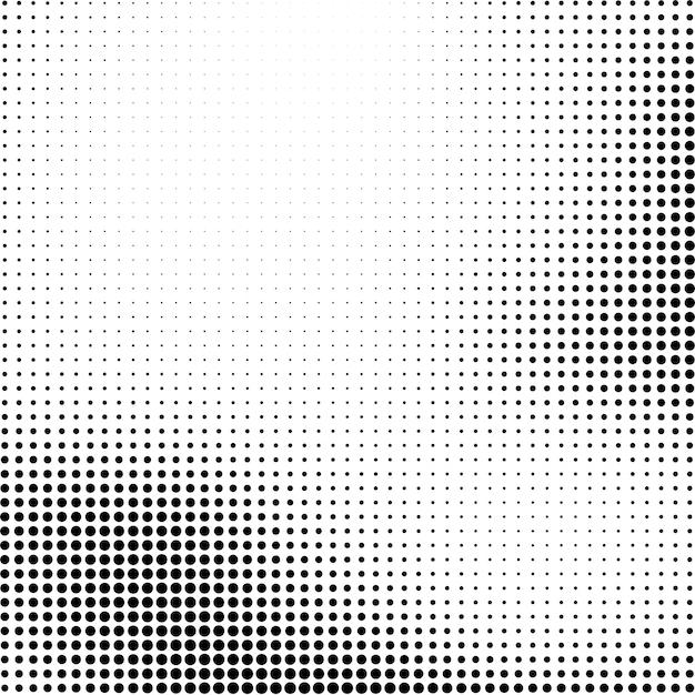 Abstracte halftone achtergrond Gratis Vector
