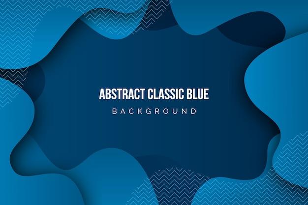 Abstracte klassieke blauwe achtergrond Gratis Vector