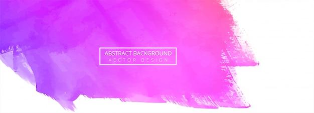 Abstracte kleurrijke aquarel achtergrond Gratis Vector