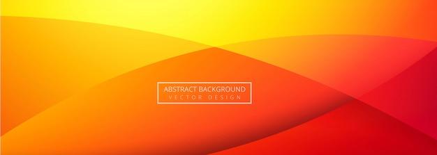Abstracte kleurrijke banner Gratis Vector